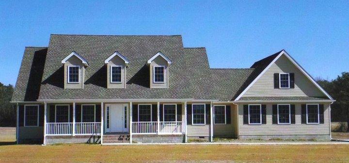 Custom home builders delaware exterior 124e2e custom for A e custom homes