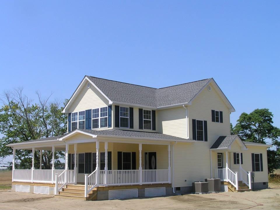 Custom home builders delaware exterior 24e2e custom home for A e custom homes